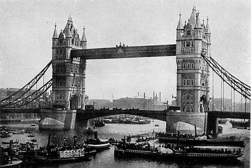 Tower Bridge on the Opening Day
